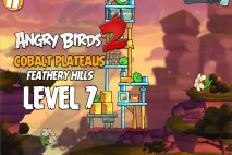 Angry Birds 2 Level 7 Cobalt Plateaus – Feathery Hills 3-Star Walkthrough