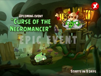 Angry Birds Epic Event Curse of the Necromancer July 2015