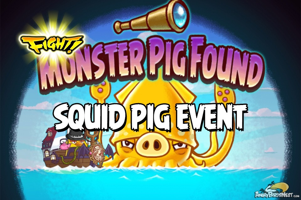 Monster Squid Pig Event!