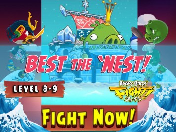Angry Birds Fight Snow Island 8-9 King Pig Boss Fight Feature