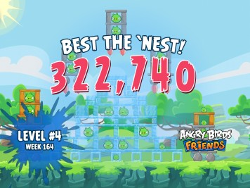 Angry Birds Friends Best the Nest Challenge Week 15