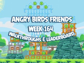 Angry Birds Friends Tournament Week 164 Feature Image