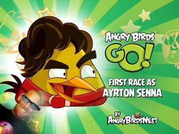 Angry Birds Go Ayrton Senna Update