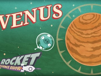 Angry Birds Space- Rocket Science Show - Venus Feature Image