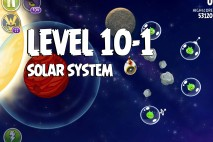 Angry Birds Space Solar System Level 10-1 Walkthrough
