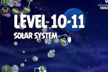 Angry Birds Space Solar System Level 10-11 Walkthrough