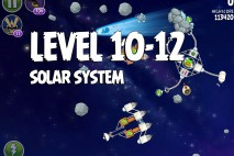 Angry Birds Space Solar System Level 10-12 Walkthrough