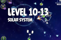 Angry Birds Space Solar System Level 10-13 Walkthrough