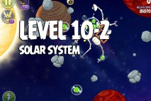 Angry Birds Space Solar System Level 10-2 Walkthrough