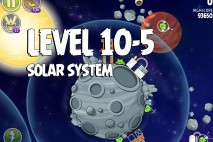 Angry Birds Space Solar System Level 10-5 Walkthrough
