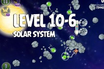 Angry Birds Space Solar System Level 10-6 Walkthrough