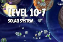 Angry Birds Space Solar System Level 10-7 Walkthrough