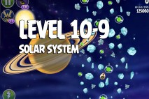 Angry Birds Space Solar System Level 10-9 Walkthrough