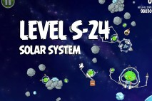 Angry Birds Space Solar System Bonus Level S-24 Walkthrough