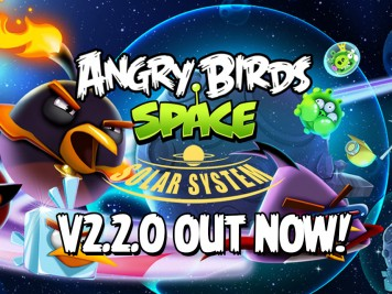 Angry Birds Space Solar Sytem Update Reature Image