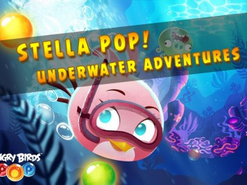 Angry Birds Stella Pop Underwater Adventures Feature Image