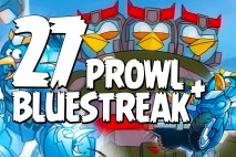Let's Play Angry Birds Transformers | Part 27 | Bluestreak and Prowl