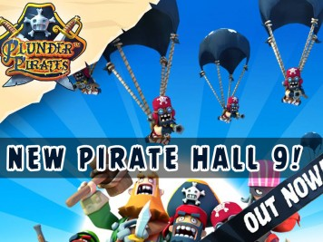 Plunder Pirates Update Adds New Pirate Hall