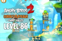 Angry Birds 2 Level 86 Cobalt Plateaus – Chirp Valley 3-Star Walkthrough