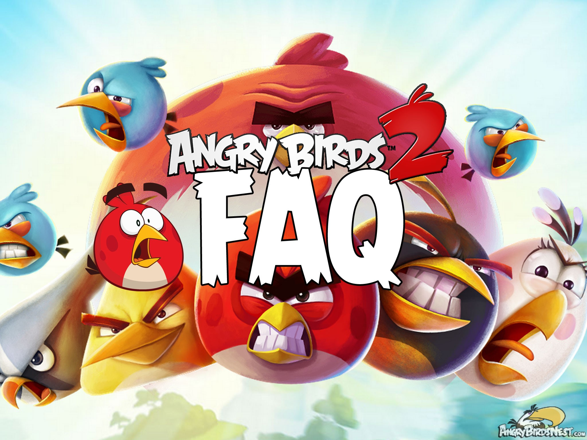 Angry Birds 2 Faq Frequently Asked Questions Angrybirdsnest
