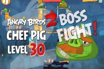 Angry Birds 2 Foreman Pig Level 30 Boss Fight Walkthrough – Pig City New Pork City