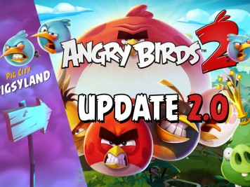 Angry Birds 2 Update adds Pigsyland Image