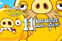 Angry Birds Fight! – KAIJUU PIG and WALRUS PIG BOSS FIGHTS