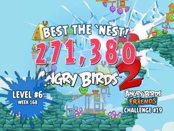 Angry Birds Friends Best the Nest Challenge Week 19