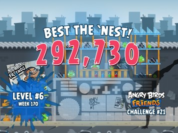 Angry Birds Friends Best the Nest Challenge Week 21