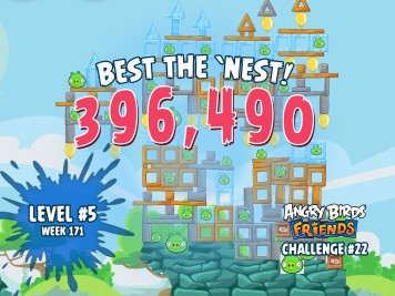 Angry Birds Friends Best the Nest Challenge Week 22
