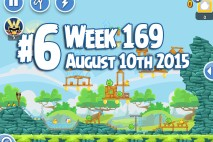 Angry Birds Friends 2015 Tournament Level 6 Week 169 Walkthrough