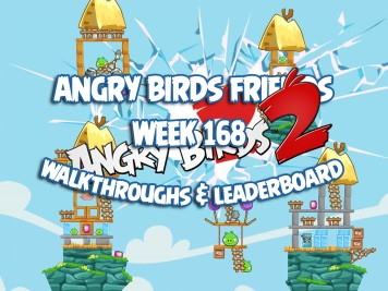 Angry Birds Friends Tournament Week 168 Feature Image