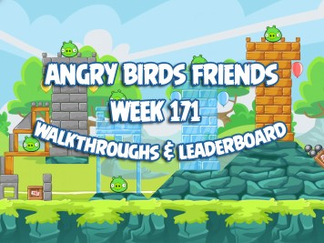 Angry Birds Friends Tournament Week 171 Feature Image