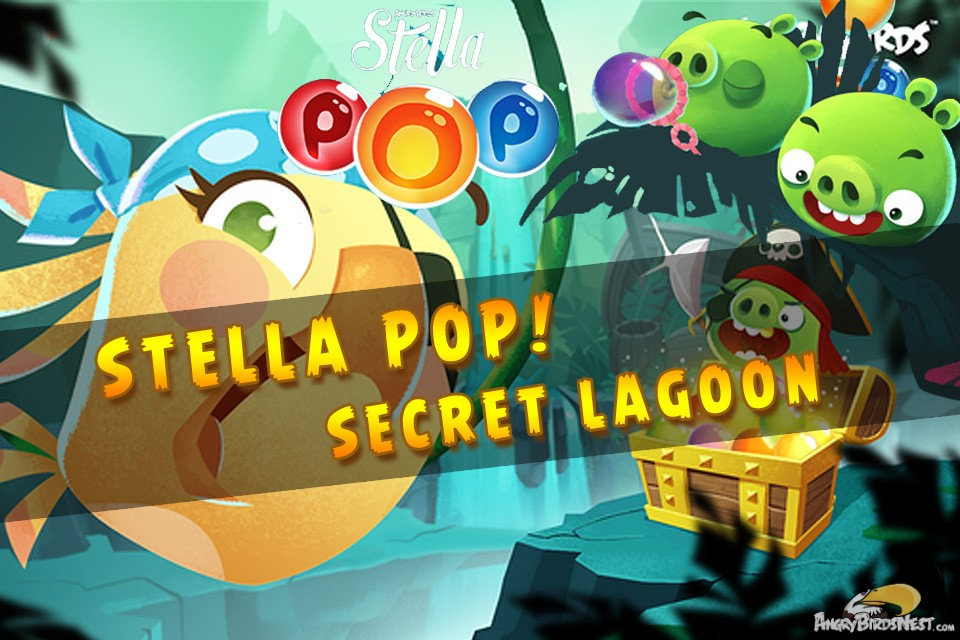 Angry Birds Stella Pop! Secret Lagoon