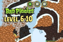 Bad Piggies The Road To El Porkado Level 6-10 Walkthrough