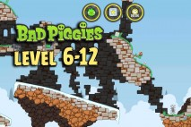Bad Piggies The Road To El Porkado Level 6-12 Walkthrough