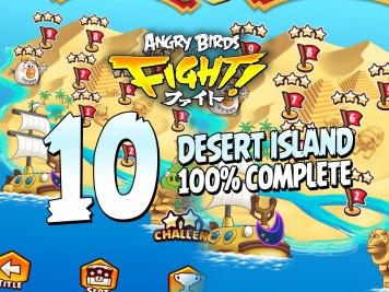 Let's Play Angry Birds Fight! Desert Island Complete Feature Image