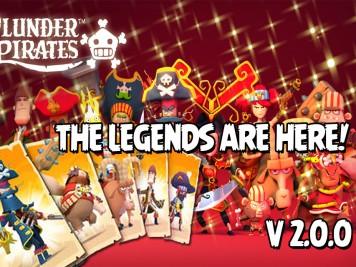 Plunder Pirates Update 200 Legendary Pirates Feature Image