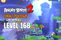 Angry Birds 2 Level 168 Cobalt Plateaus – Greenerville 3-Star Walkthrough