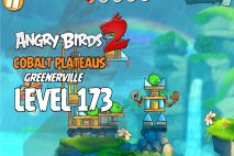 Angry Birds 2 Level 173 Cobalt Plateaus – Greenerville 3-Star Walkthrough