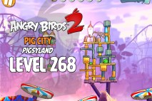 Angry Birds 2 Level 268 Pig City – Pigsyland 3-Star Walkthrough