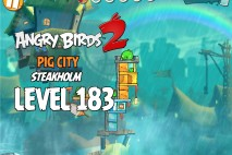 Angry Birds 2 Level 183 Pig City – Steakholm 3-Star Walkthrough