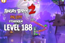 Angry Birds 2 Level 188 Pig City – Steakholm 3-Star Walkthrough