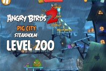 Angry Birds 2 Foreman Pig Level 200 Boss Fight Walkthrough – Pig City Steakholm