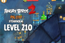 Angry Birds 2 King Pig Level 210 Boss Fight Walkthrough – Pig City Steakholm