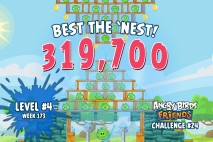 Can you 'Best the Nest' in Angry Birds Friends Tournament Week 173 Level 4?