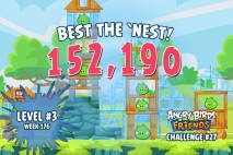 Can you 'Best the Nest' in Angry Birds Friends Tournament Week 176 Level 3?