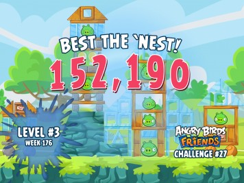 Angry Birds Friends Best the Nest Challenge Week 27