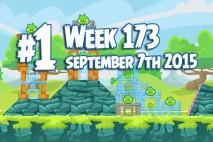 Angry Birds Friends 2015 Tournament Level 1 Week 173 Walkthrough