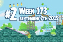 Angry Birds Friends 2015 Tournament Level 2 Week 173 Walkthrough